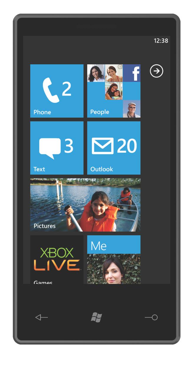 Windows phone 7 series nuevo telefono