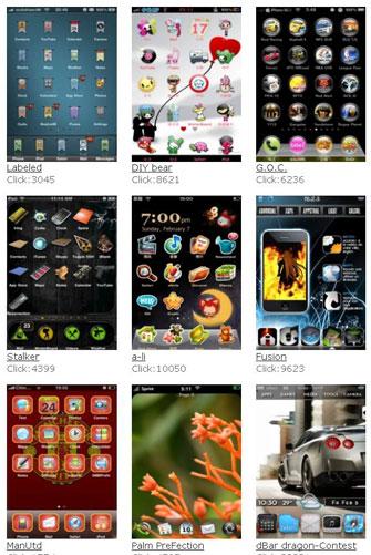 500 Temas para iPhone Themes