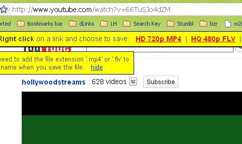 Bookmarklet para descargar videos de YouTube Facilmente