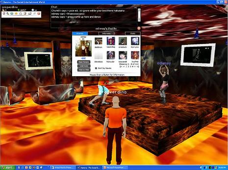 Kaneva, Nueva red Social en 3D