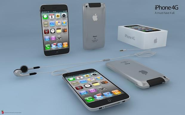iPhone 4G 3D: modelo de iPhone en 3D