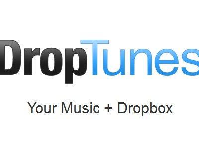 DropTunes | Escuchar música desde DropBox