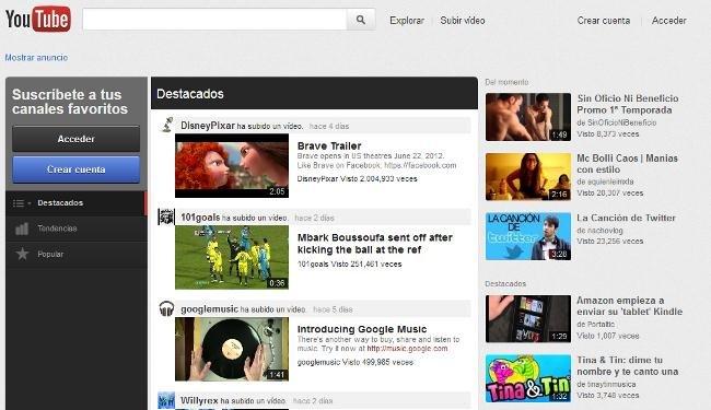 Como activar la interfaz nueva de Youtube