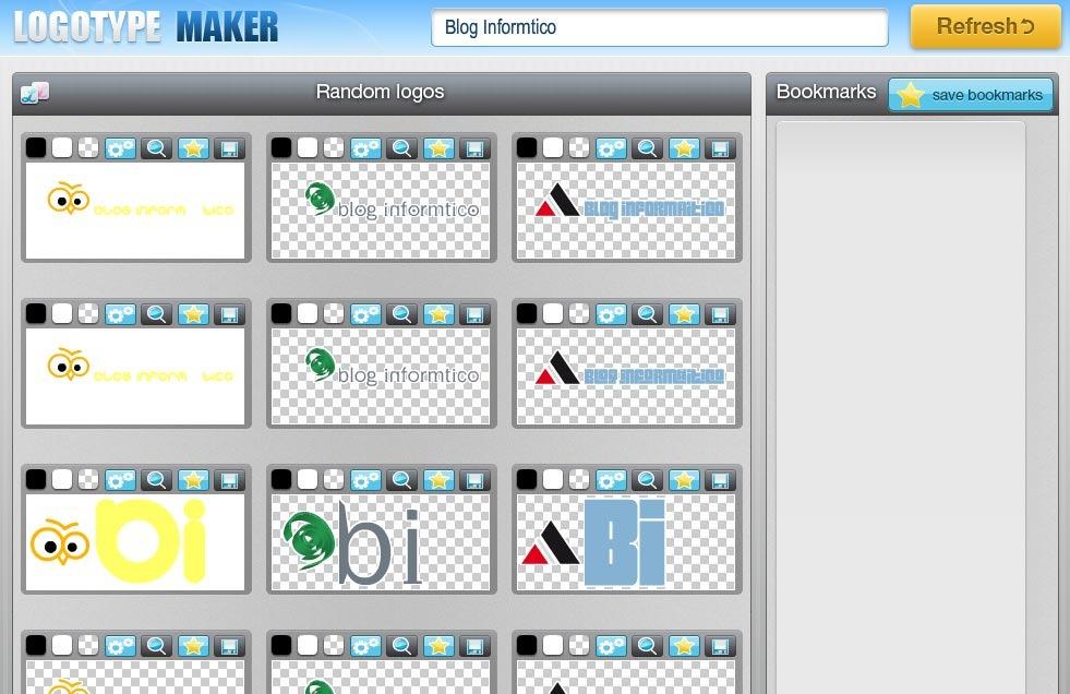 Crear logos con logotype maker nueva aplicaci n online for Programas para disenar piscinas gratis