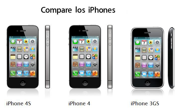 Como distinguir un iPhone 4S de un iPhone 4 (vídeo)