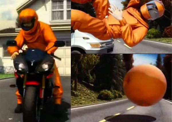 Traje con Airbag para motos