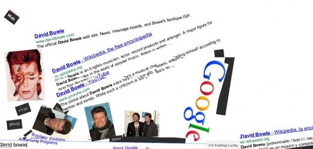 Google Gravity: Un Google divertido afectado por la gravedad