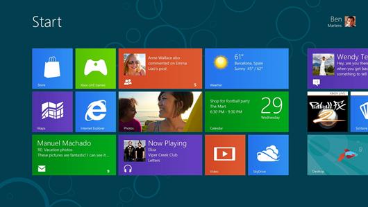 El nuevo Windows 8 Consumer Preview listo para descargar