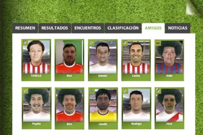 Red social de los Futboleros: Football Album