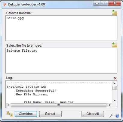 Como ocultar un archivo en imágenes, videos o audios