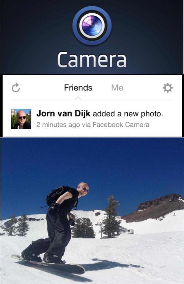 Instagram vs Facebook Camera