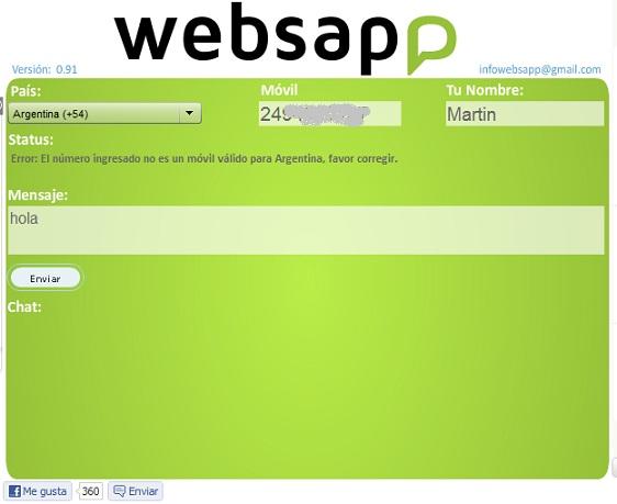 Enviar mensajes WhatsApp desde el navegador
