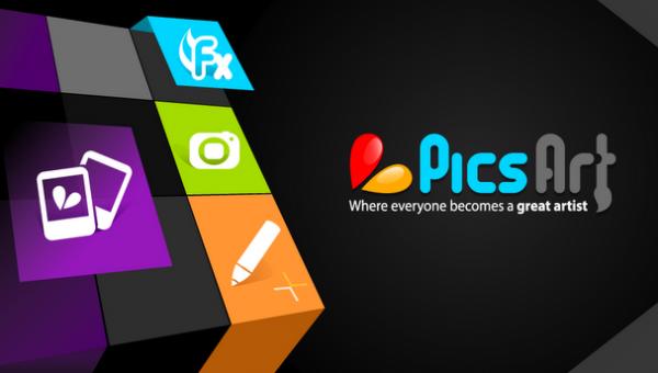 Editor de imágenes PicsArt para Android
