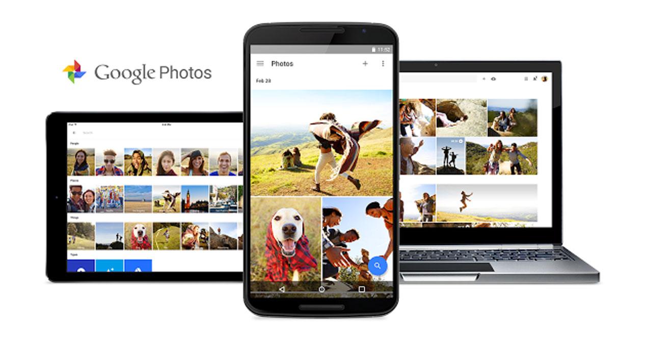 Google lanza nuevo servicio de almacenamiento de fotos y videos