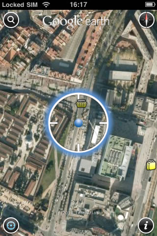 Descargar Google Earth para iPod Touch o iPhone