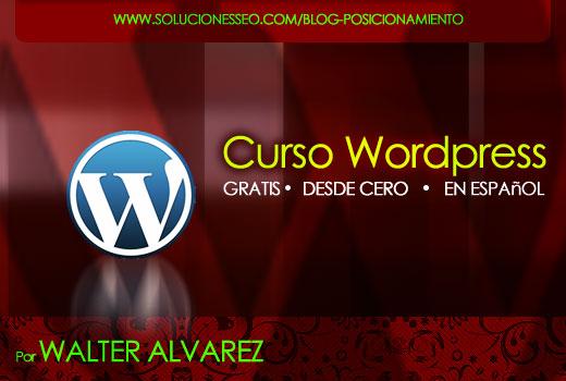 Curso completo de WordPress gratis (VideoTutorial)