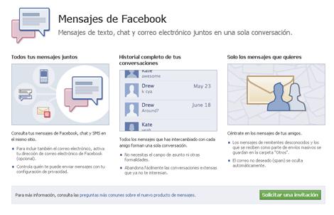 Como crear un correo Facebook, @facebook.com