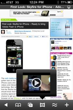 Descargar Skyfire para iPhone, iPod Touch o iPad