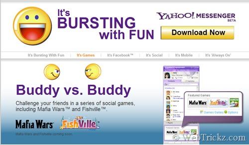 Descargar Yahoo Messenger 11 Beta instalador offline