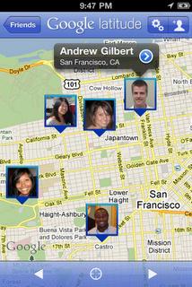 Descargar Google Latitud para iPhone 4, iPad y iPod Touch