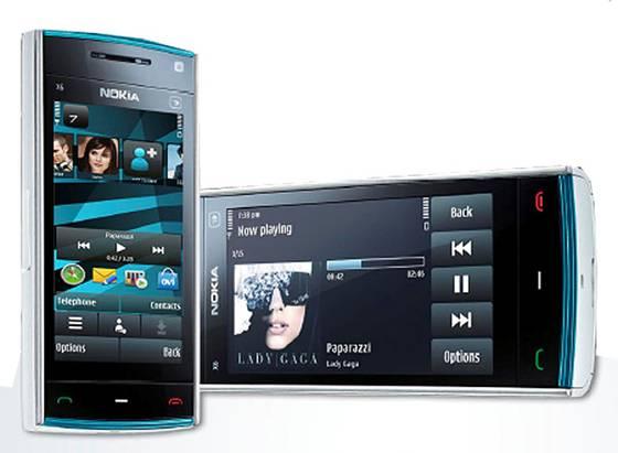 Aplicaciones, juegos y temas para Nokia X6