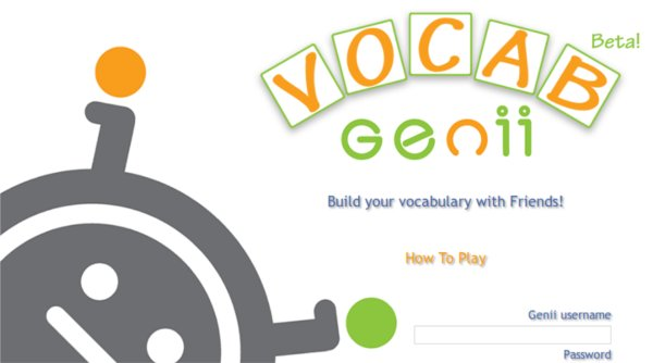 Juego para aprender Ingles con VocabGenii.com