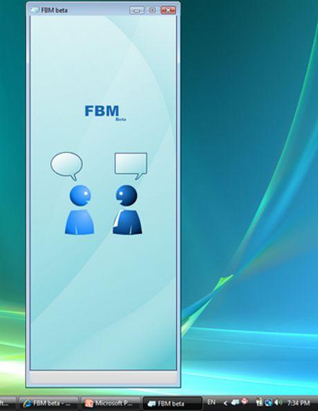 Facebook chat a tu escritorio con FBM