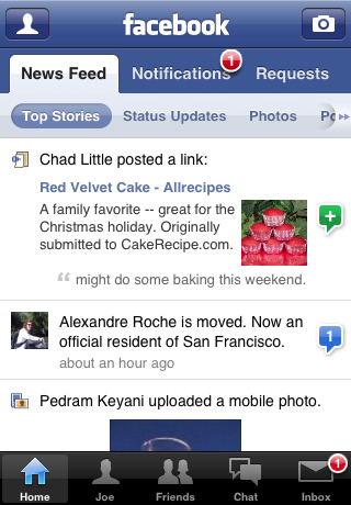 Descargar Facebook chat para iPhone