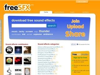Banco de sonidos gratuitos, FreeSFX