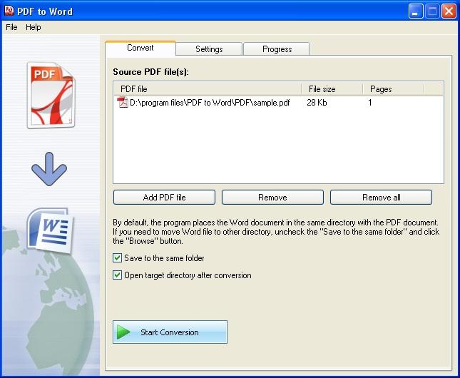 Como convertir Pdf a Word