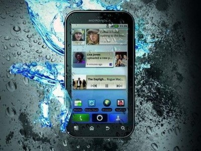 Motorola Defy en claro Argentina