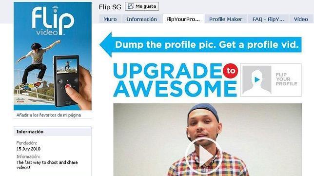 Cambiar foto del perfil por video en Facebook