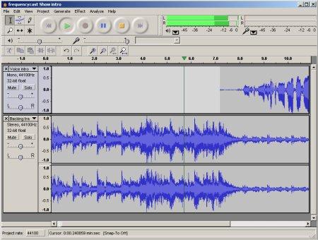 Audacity, editor de audio con multiples formatos