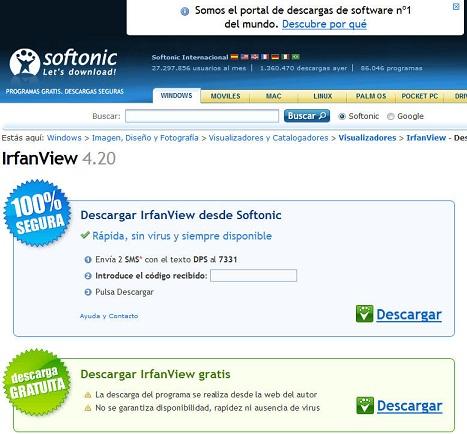 Paginas Web para descarga de programas gratis, Top 10
