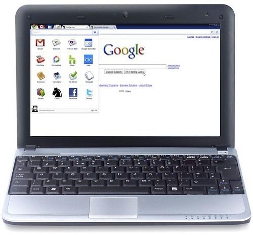 La Notebook de Google: Chromebook