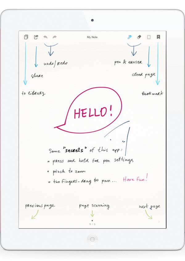 Bamboo Paper para iPad, descarga gratis