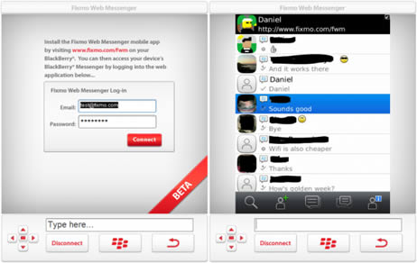 Como instalar Blackberry messenger para PC