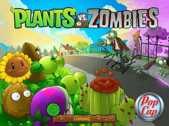 El juego de Plants Vs Zombies para Xbox Live