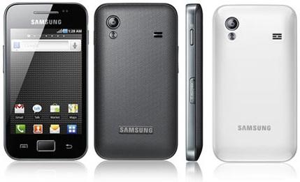 Descargar Aplicaciones   Samsung Galaxy Ace