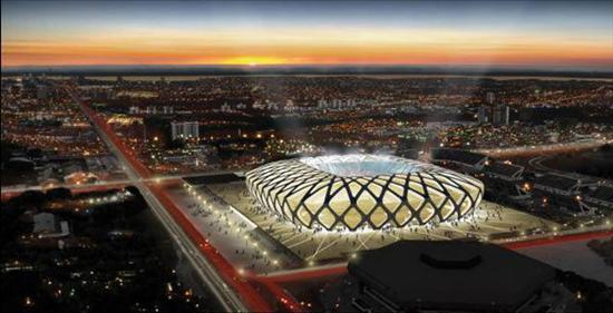 Estadios del Mundial Brasil 2014 (Fotos)