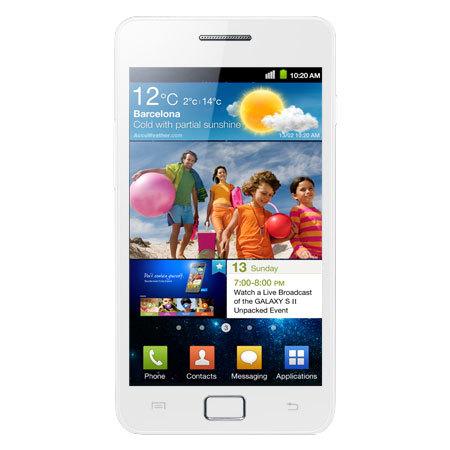 Nuevo Samsung Galaxy S2 blanco