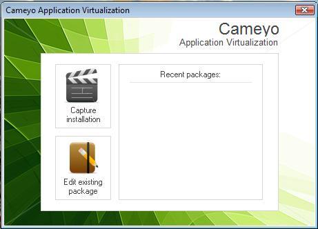 Crear programas portables con Cameyo