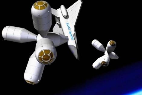 Tecnología 2012   Primer hotel espacial