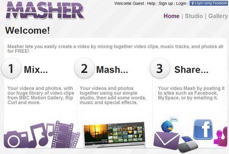 Hacer vídeos con tus fotos | Masher