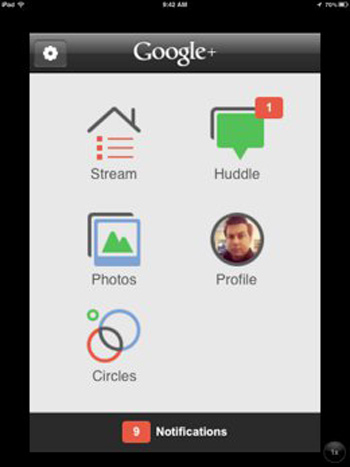 Google+ para iPad y iPod Touch disponible