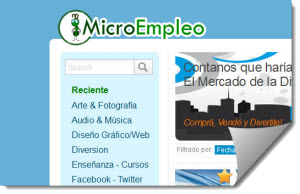 MicroEmpleo | Buscar Trabajo | ofrecer Trabajo
