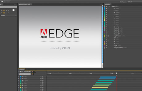 Crear animaciones HTML 5 | Adobe Edge Beta