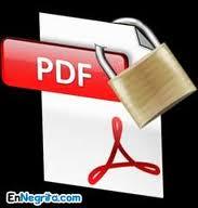 Como eliminar contraseñas de archivos PDF