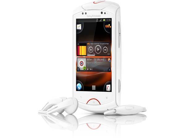 Sony Ericsson live con Walkman y Android