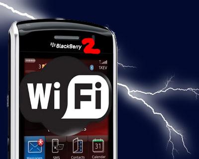 Como configurar WiFi en un Blackberry